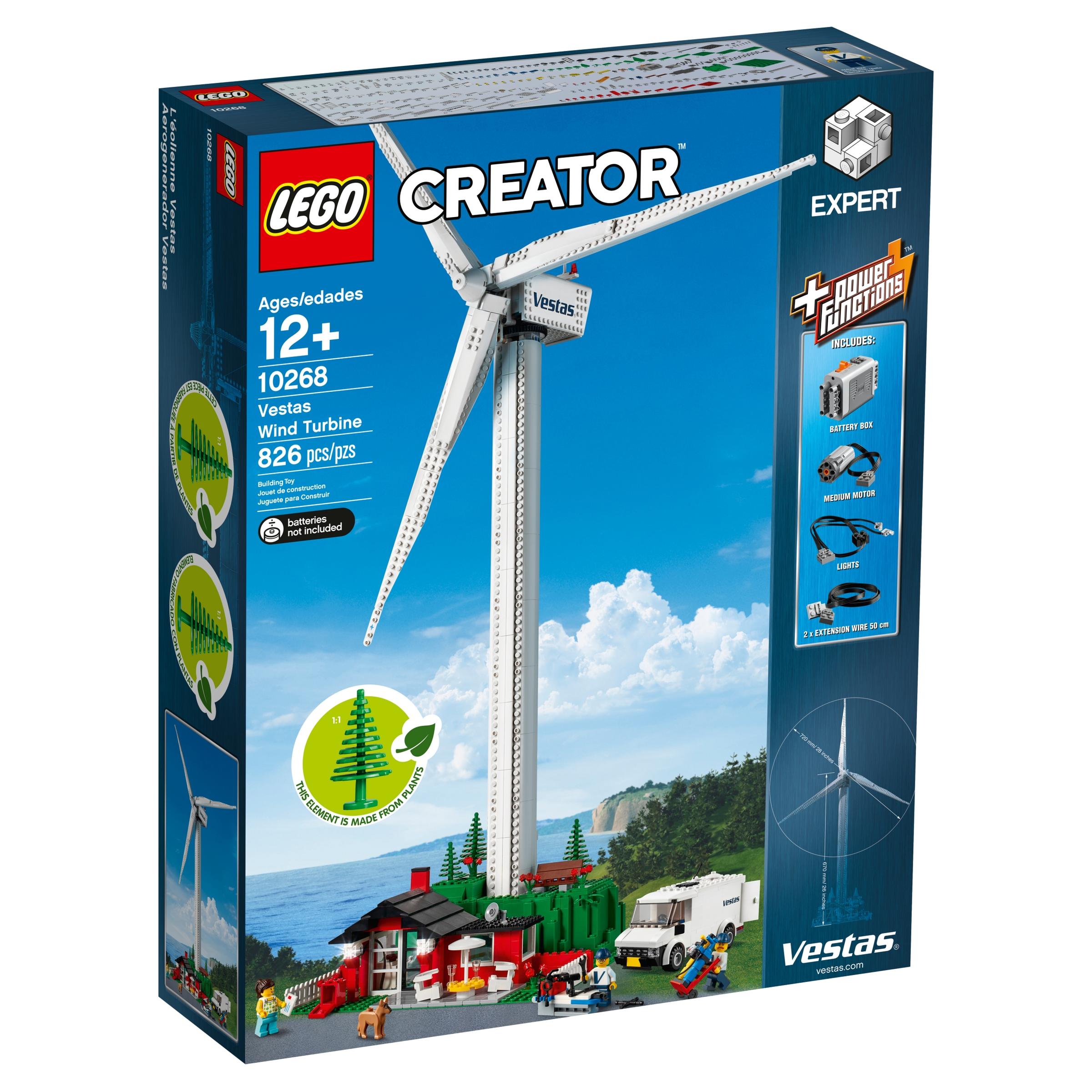 lego 10268 vestas tuuliturbiini