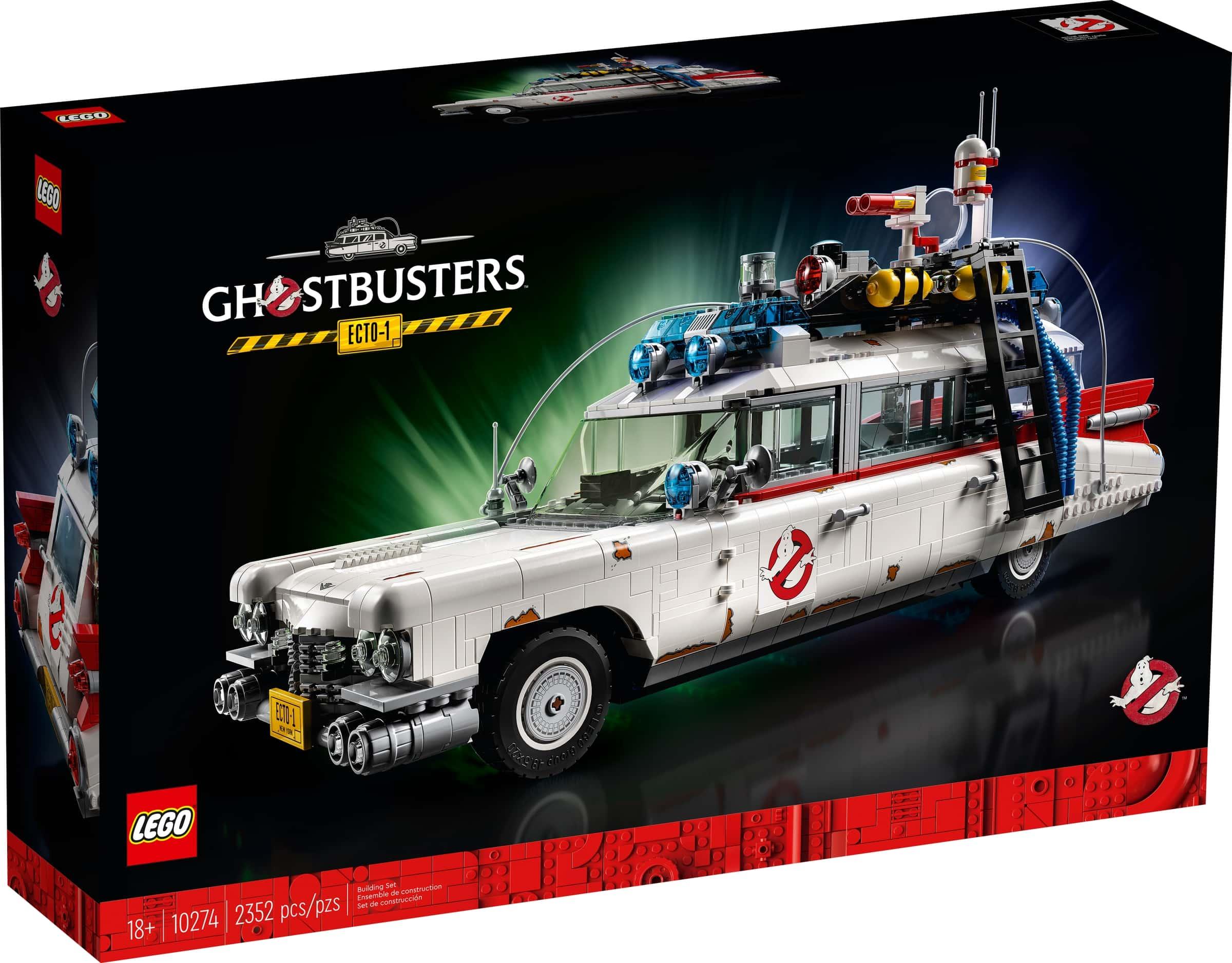 lego 10274 ghostbusters ecto 1 auto