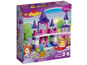 lego 10595 sofia ensimmaisen kuninkaallinen linna