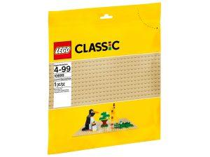 lego 10699 hiekanvarinen rakennuslevy