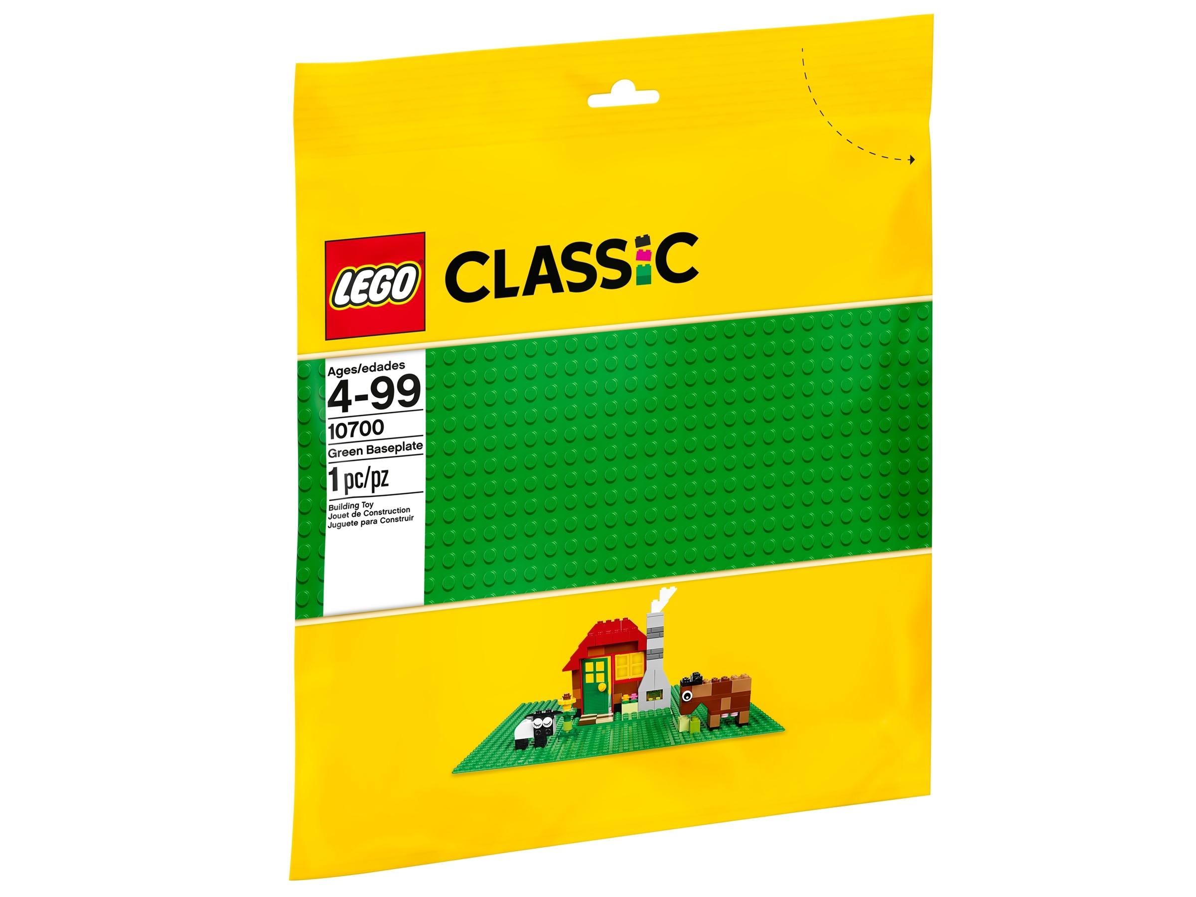 lego 10700 vihrea rakennuslevy