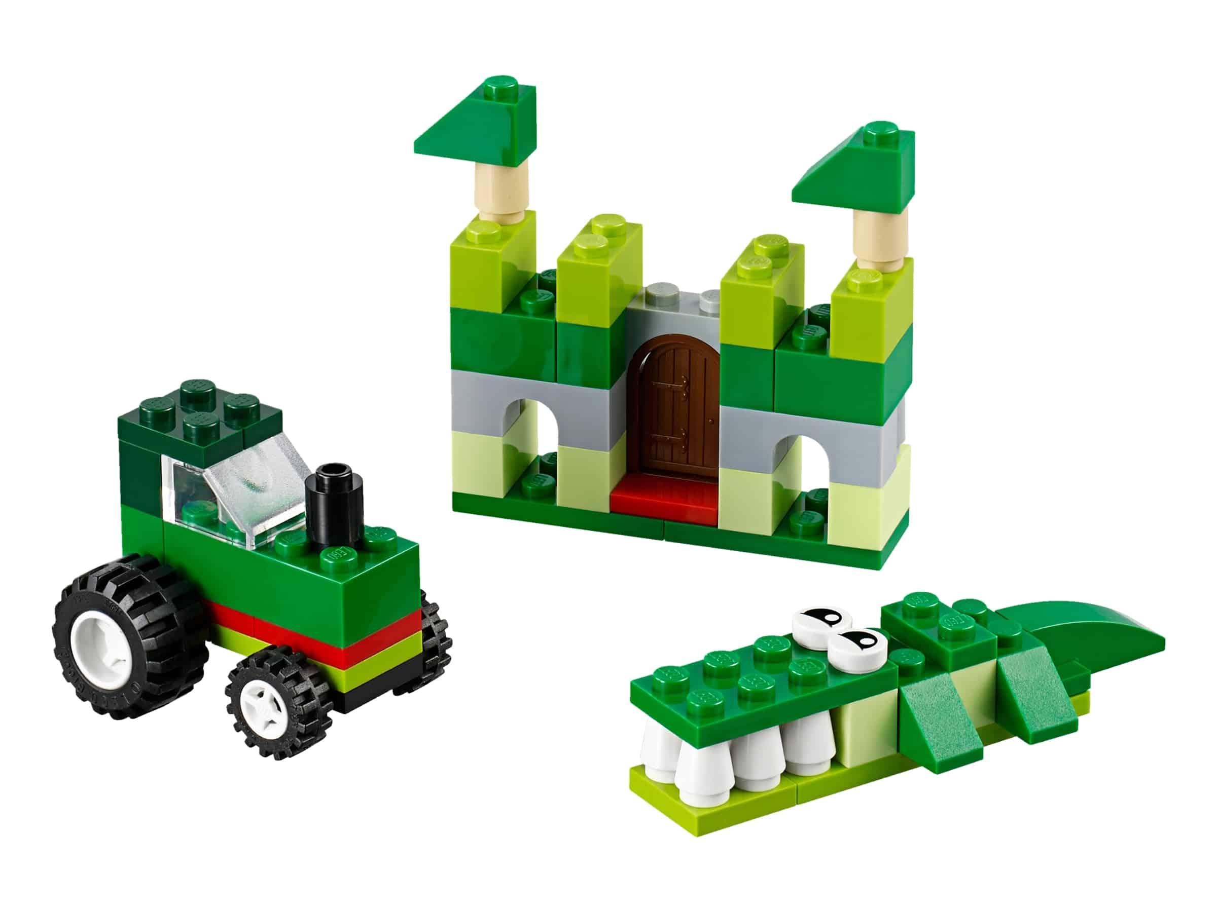 lego 10708 vihrea luovuuden laatikko