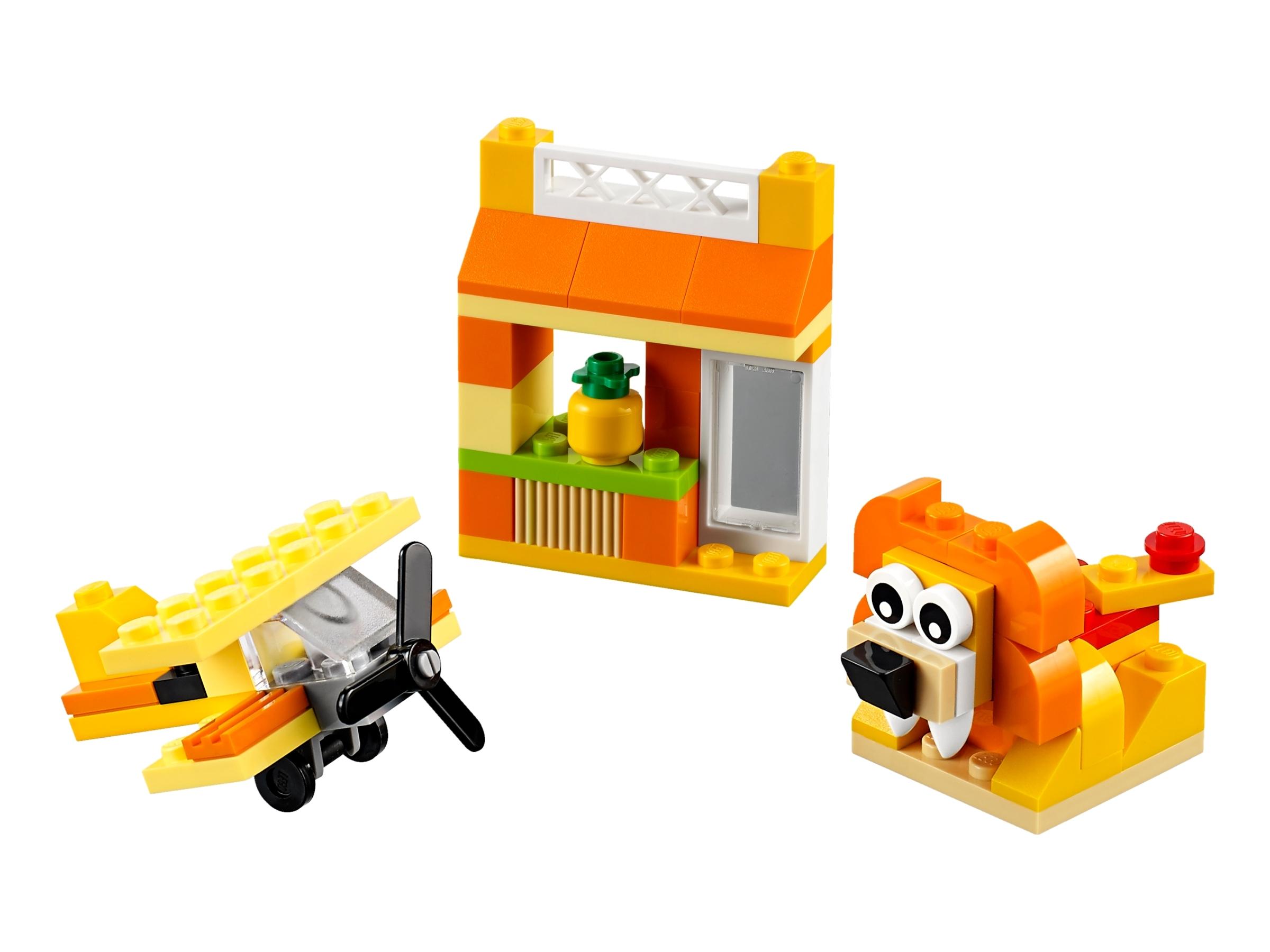 lego 10709 oranssi luovuuden laatikko