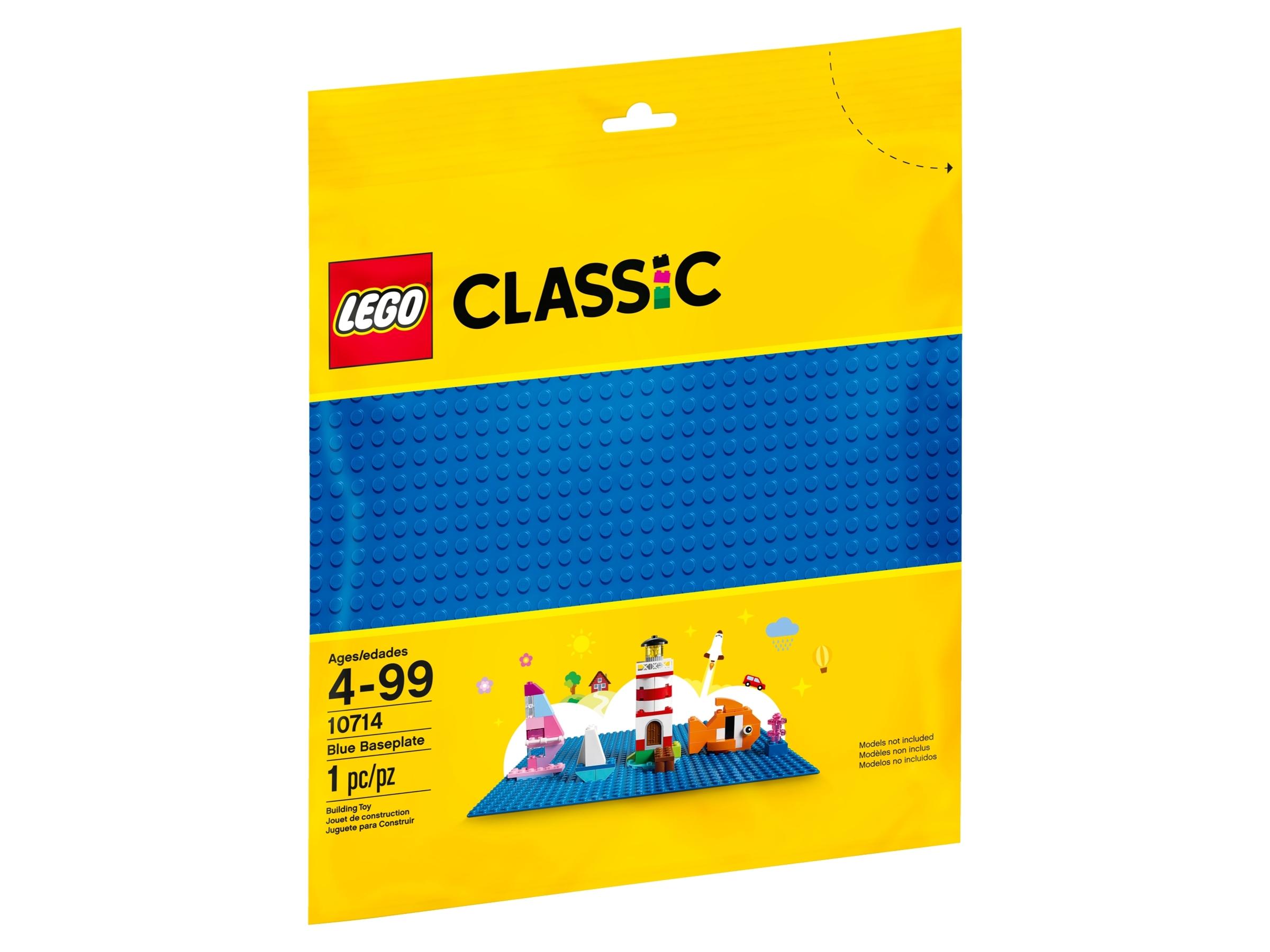 lego 10714 sininen rakennuslevy