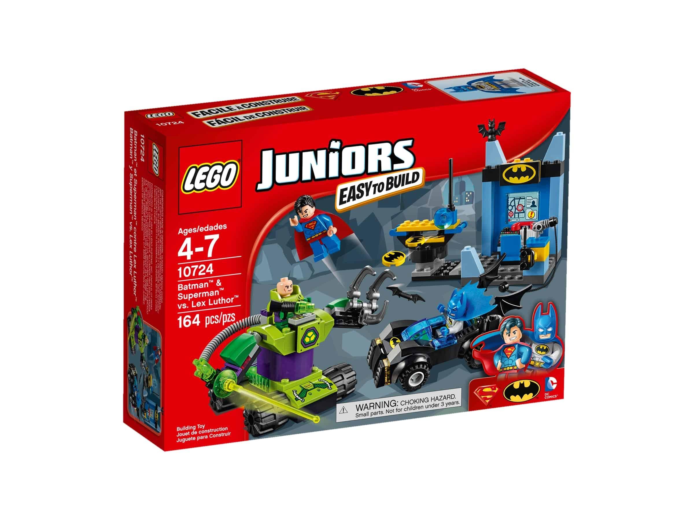 lego 10724 batman ja superman vastaan lex luthor