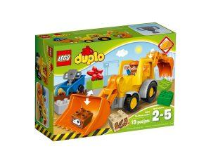 lego 10811 traktorikaivuri
