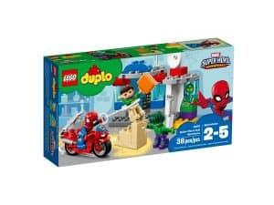 lego 10876 spider manin ja hulkin seikkailut