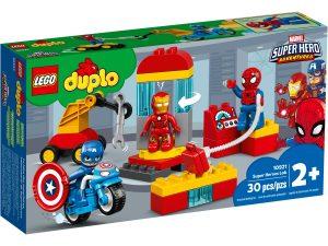 lego 10921 supersankarien laboratorio