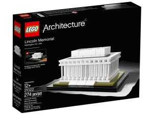 lego 21022 lincoln memorial muistomerkki