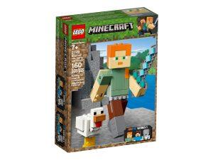 lego 21149 minecraft bigfig alex ja kana