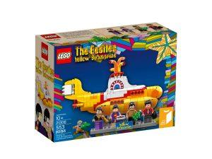 lego 21306 keltainen sukellusvene