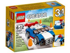 lego 31027 sininen kilpa auto