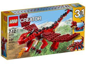 lego 31032 punaiset olennot