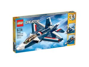 lego 31039 sininen suihkulentokone