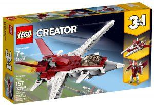 lego 31086 futuristinen lentokone