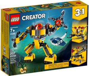 lego 31090 vedenalainen robotti