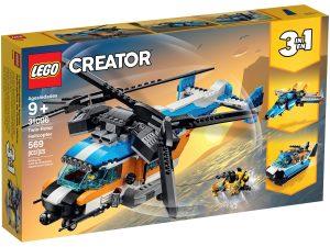 lego 31096 kaksiroottorinen helikopteri