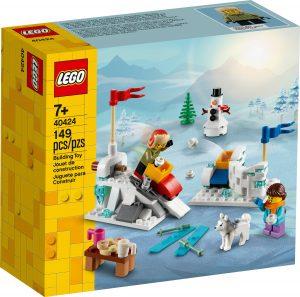 lego 40424 lumisota talvimaisemassa