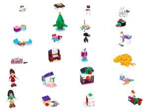 lego 41131 friends joulukalenteri