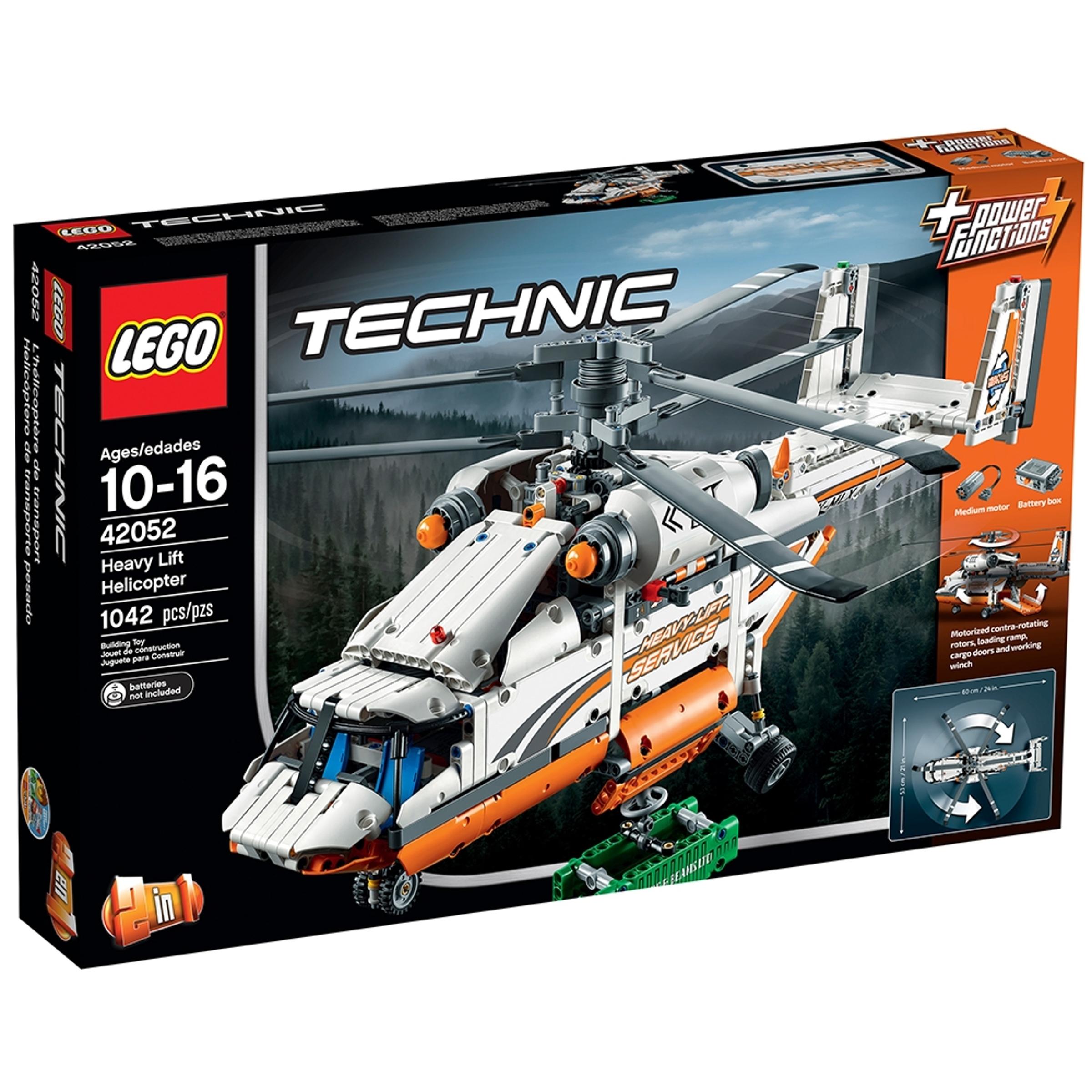 lego 42052 kuljetushelikopteri