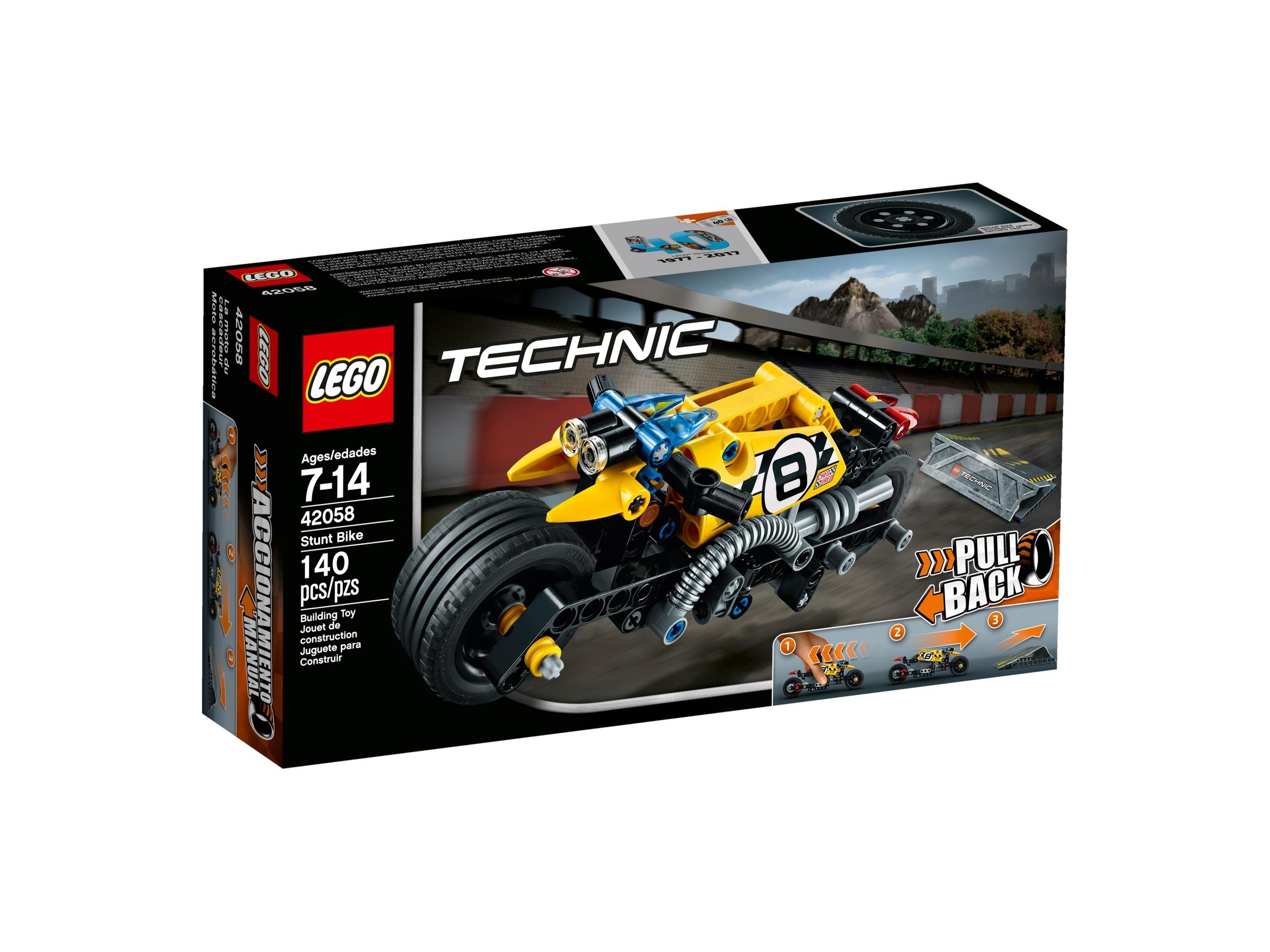 lego 42058 stunttipyora