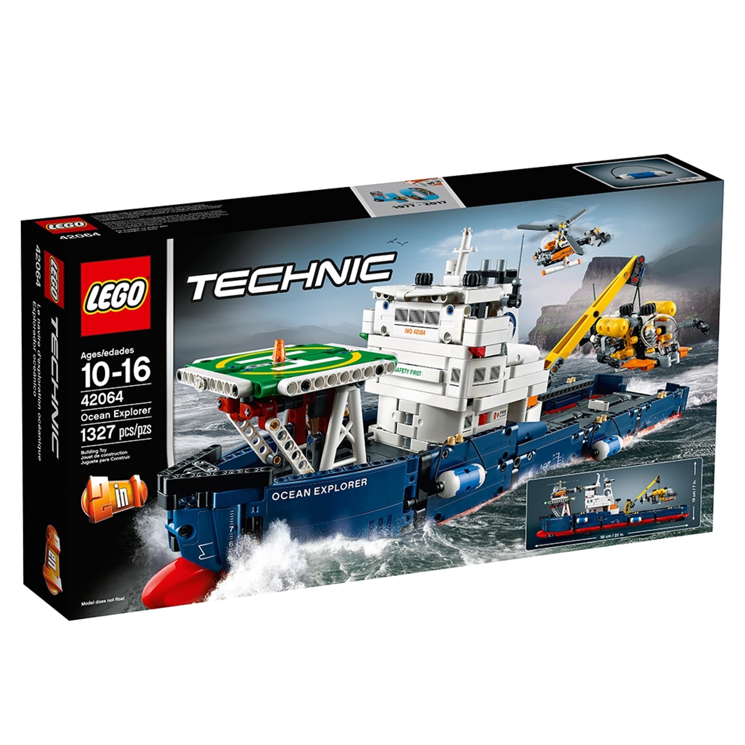 lego 42064 valtameriristeilija