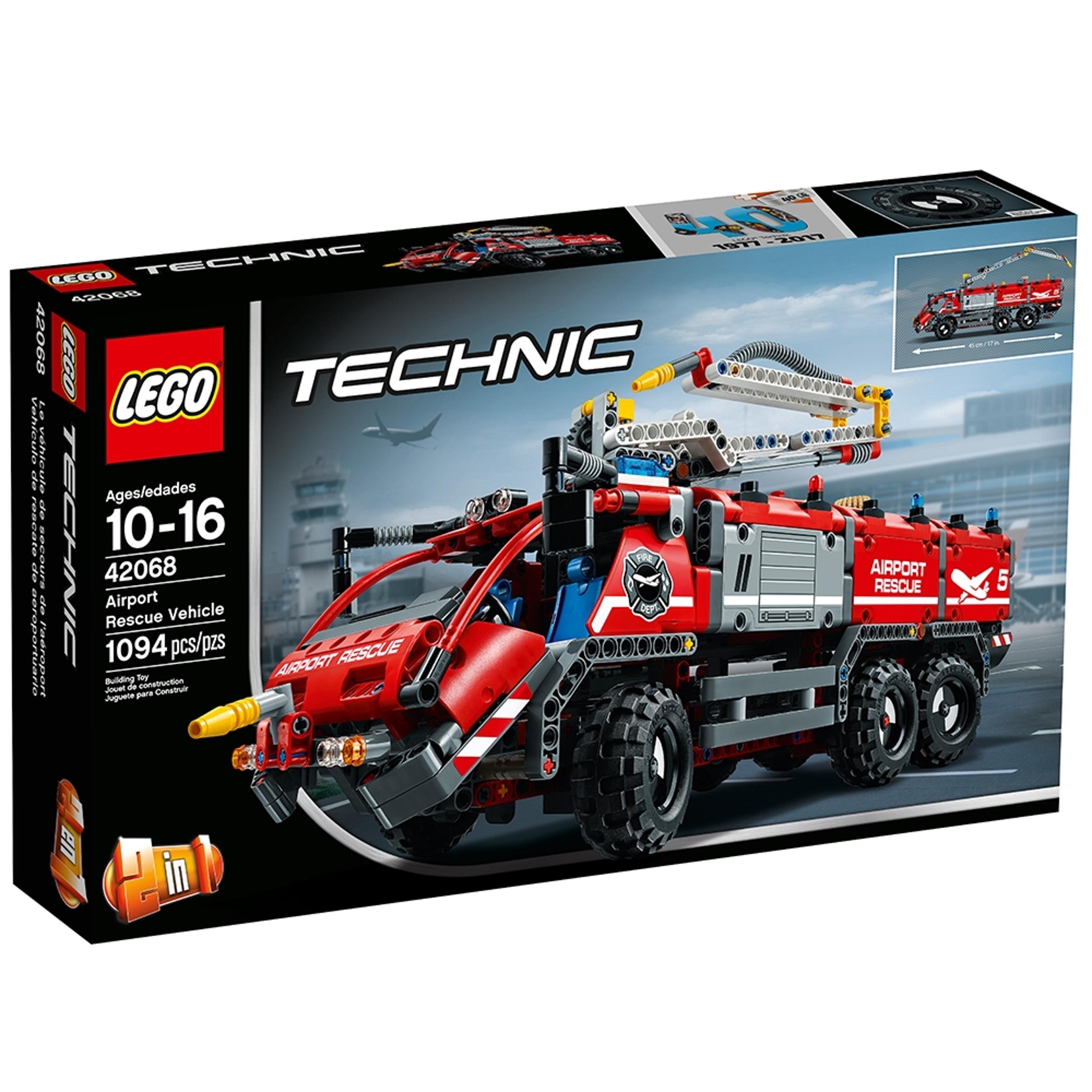 lego 42068 lentokentan pelastusauto