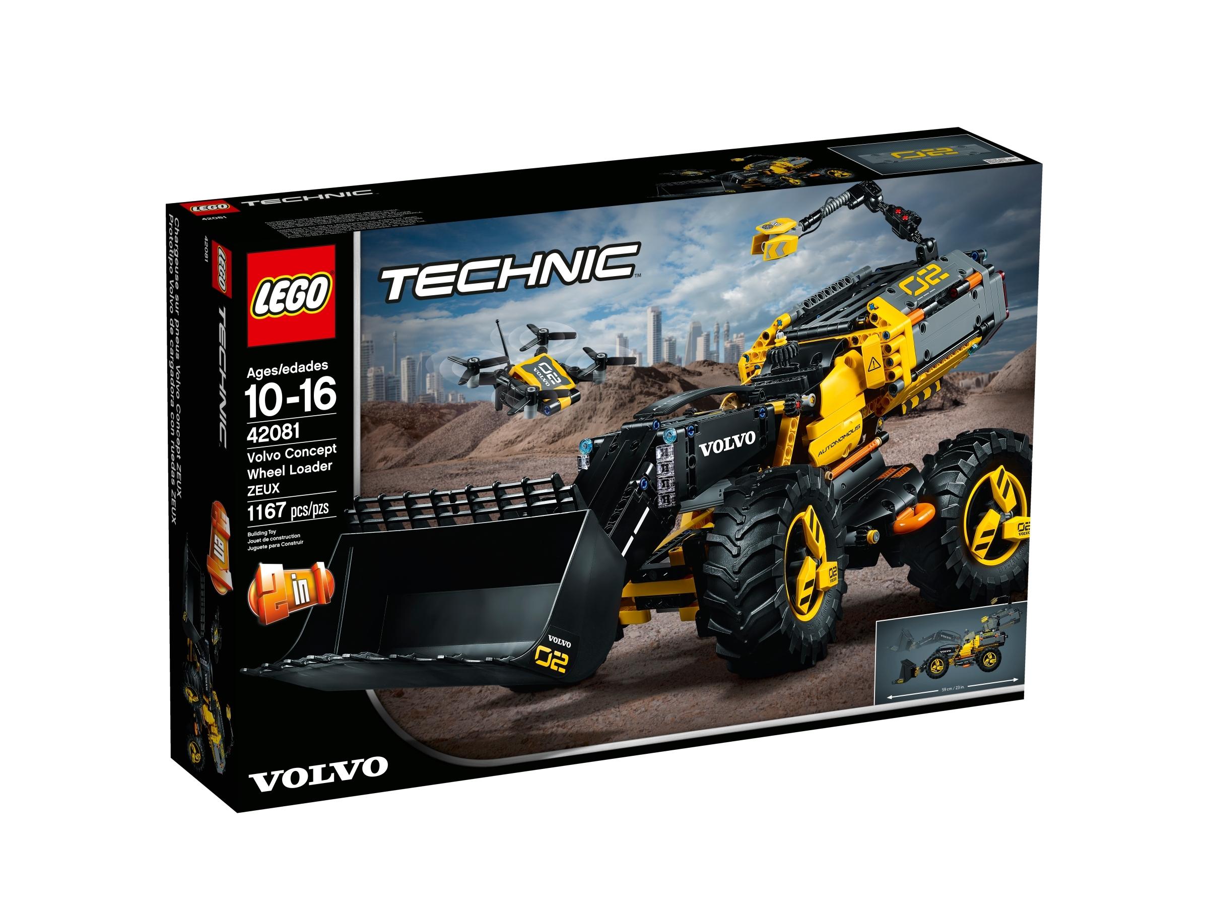 lego 42081 volvo konseptipyorakuormaaja