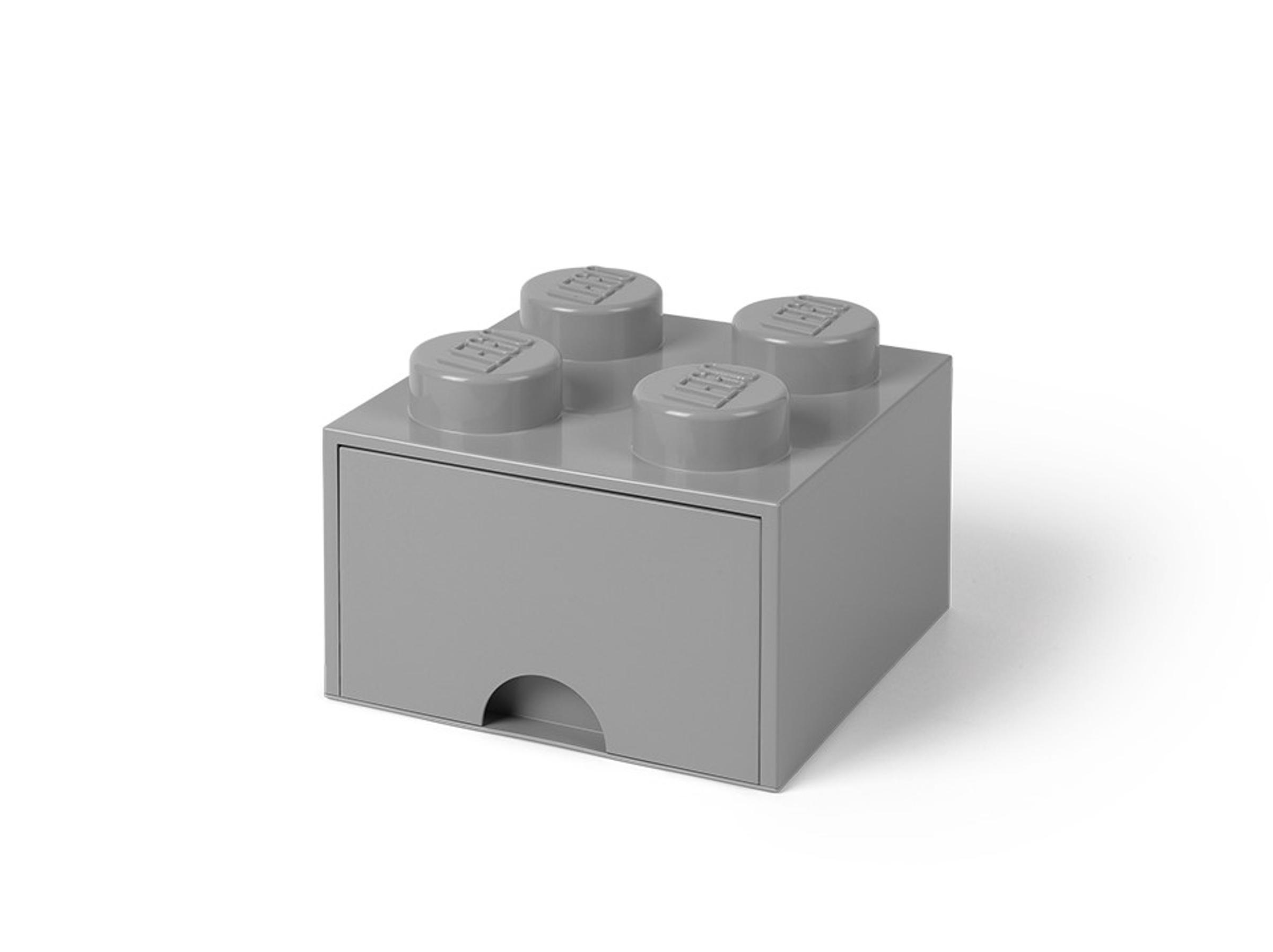 lego 5005713 4 nastainen kivenharmaa sailytyspalikkalaatikko