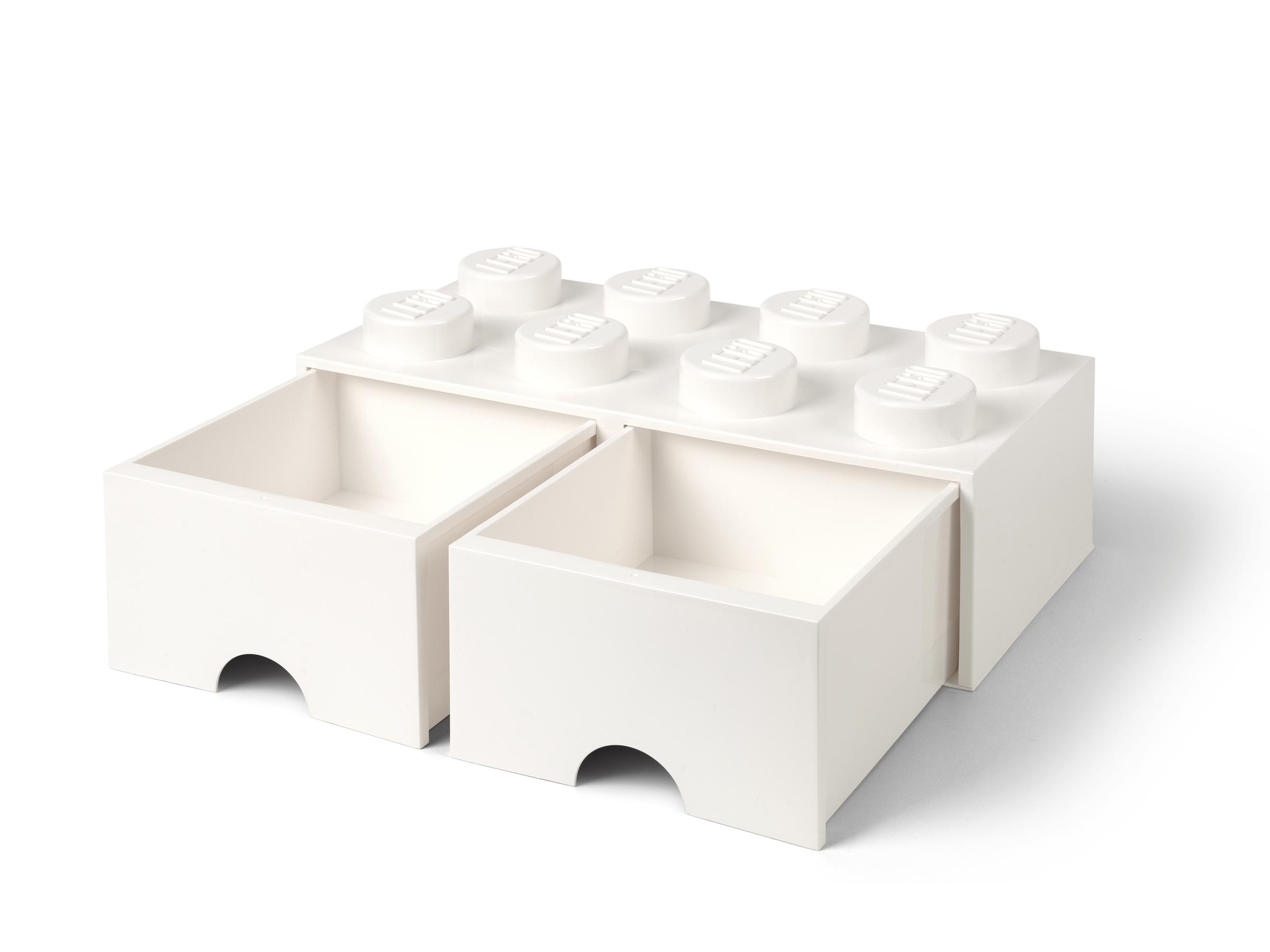 lego 5006209 8 nastainen valkoinen sailytyspalikkalaatikko