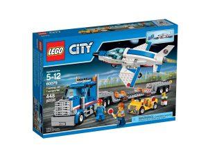 lego 60079 harjoituslentokoneen kuljetusauto
