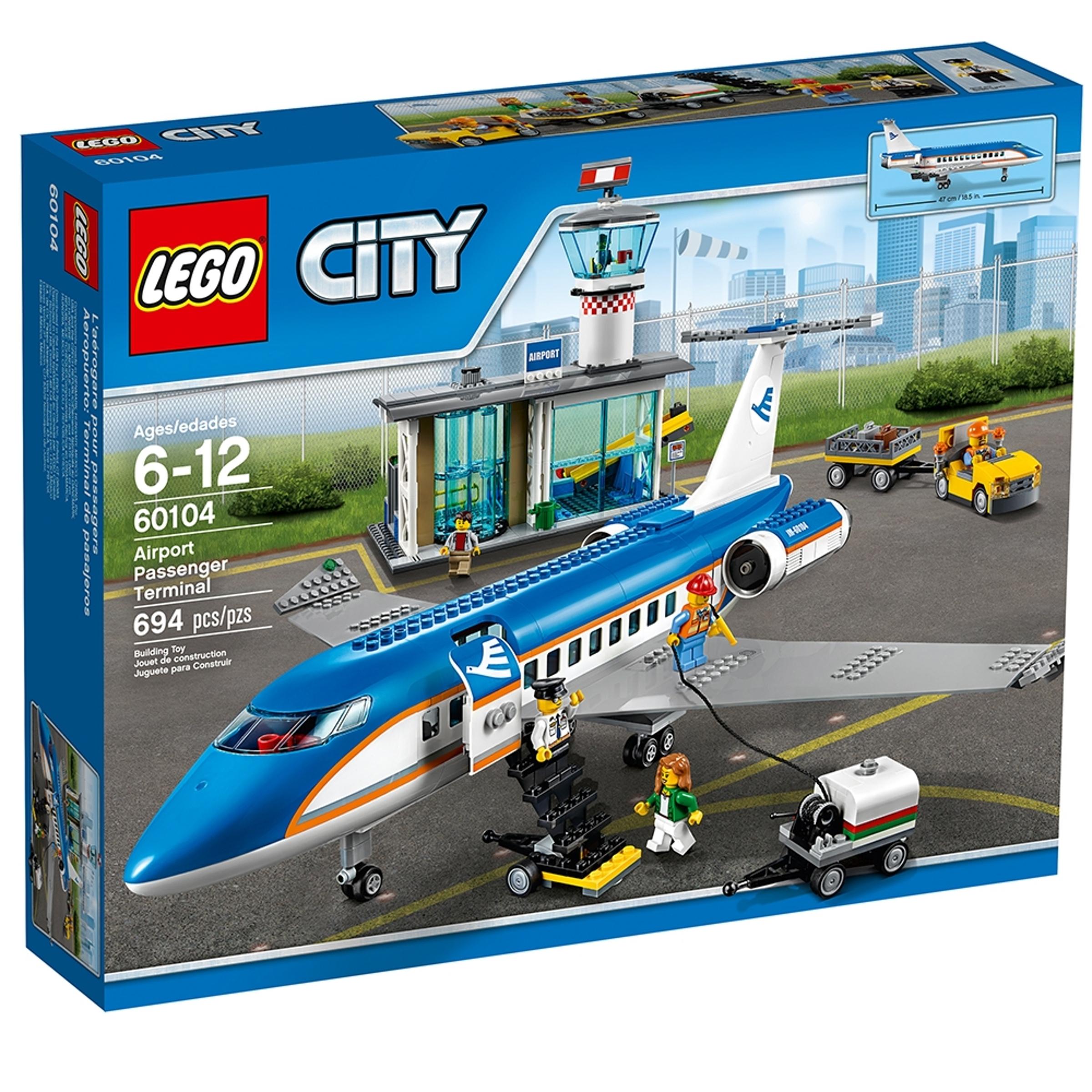 lego 60104 lentokentan matkustajaterminaali