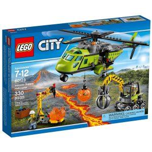lego 60123 tulivuoren jakeluhelikopteri