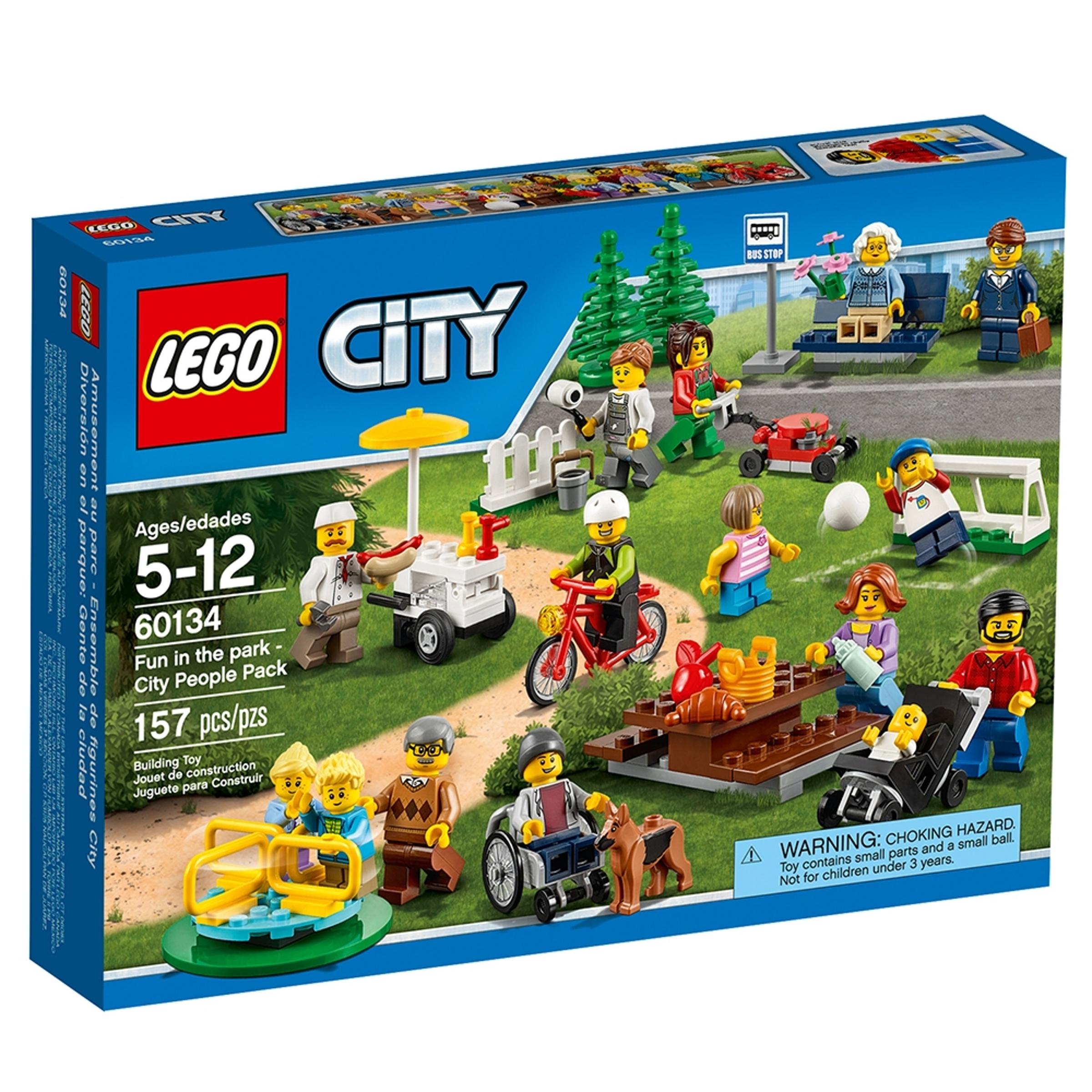 lego 60134 hauskaa puistossa cityn hahmopakkaus