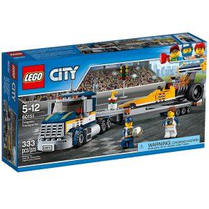lego 60151 dragsterin kuljetusauto