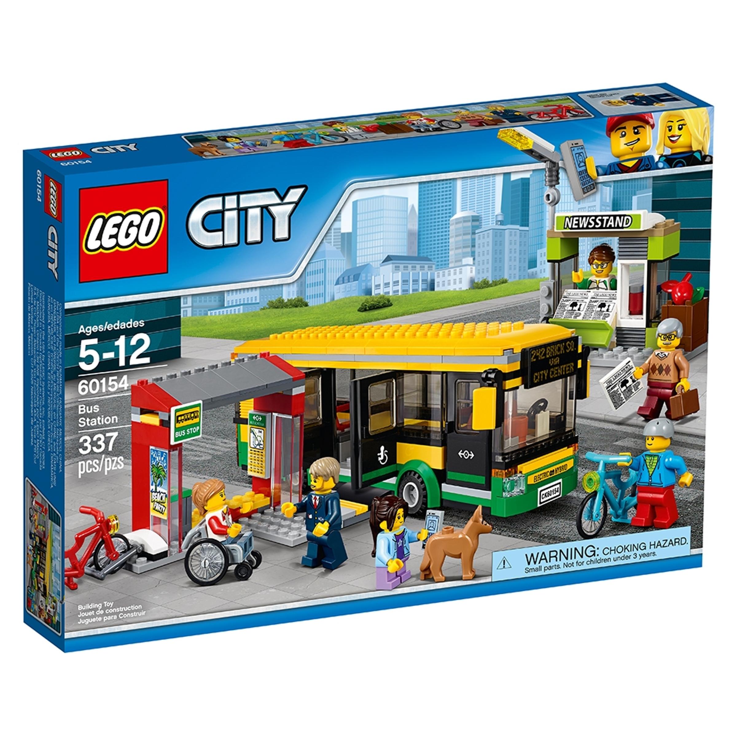 lego 60154 linja autoasema