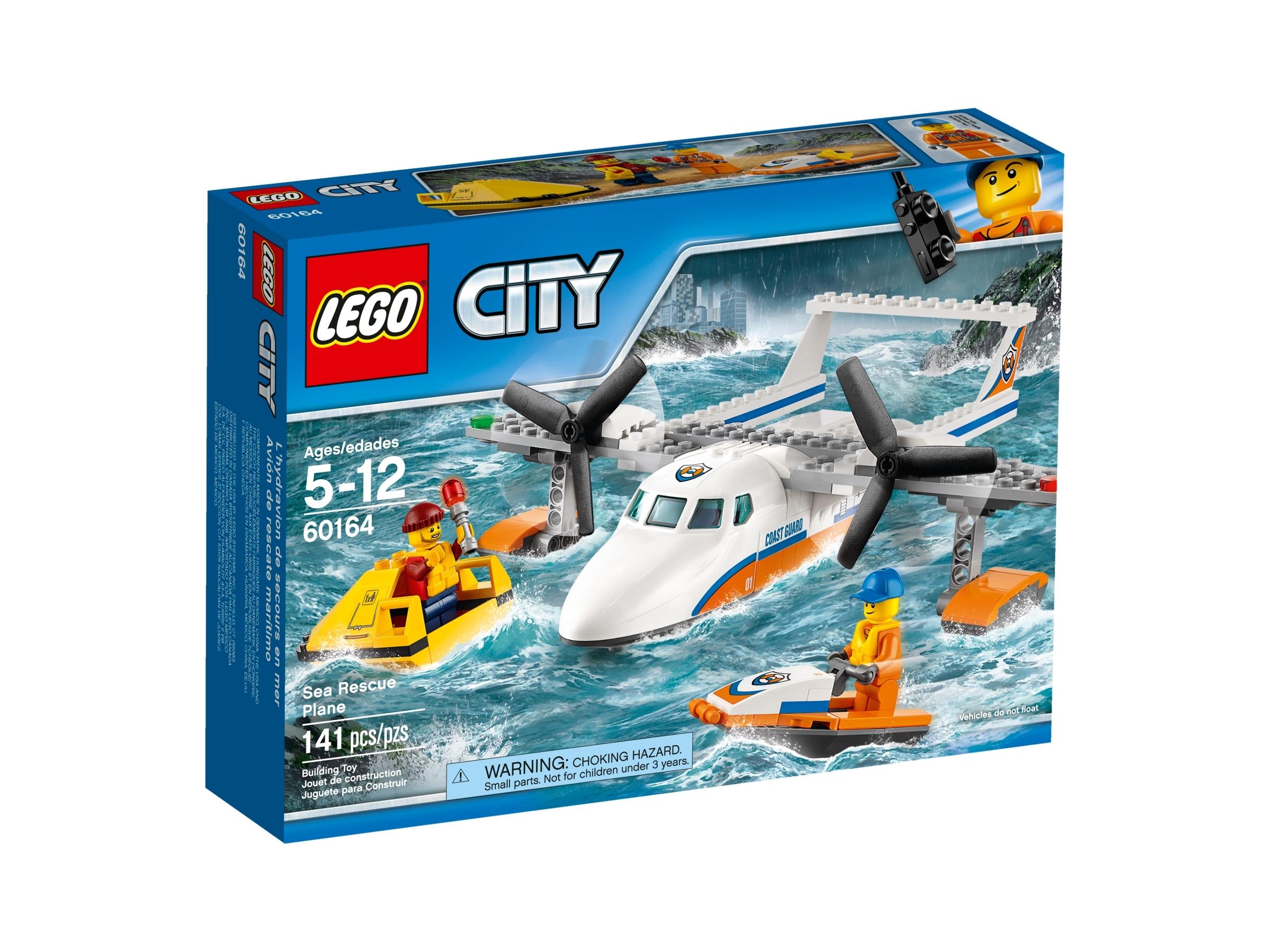 lego 60164 meripelastuslentokone