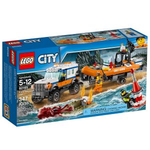 lego 60165 nelivetoinen partioauto