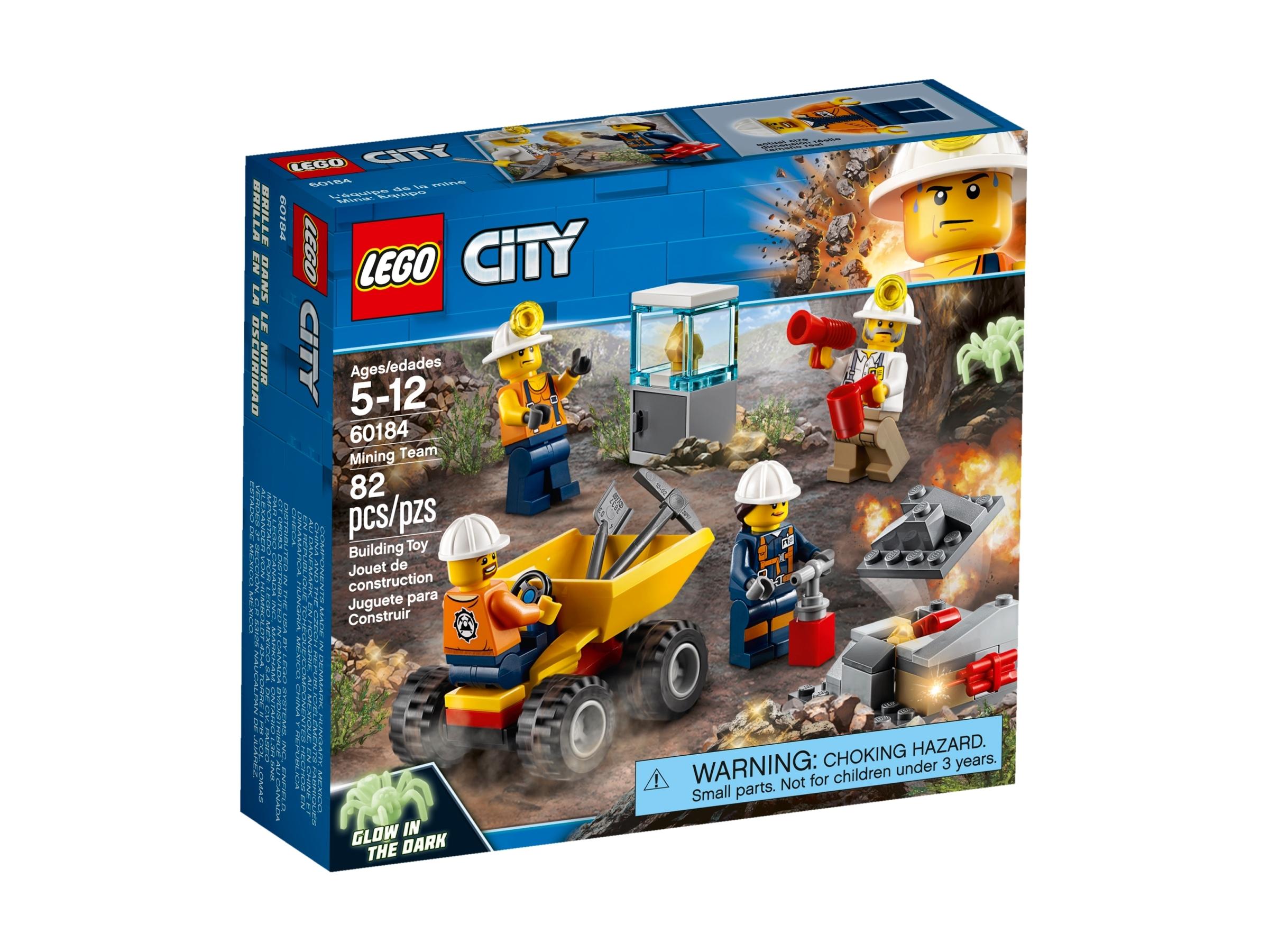 lego 60184 kaivostiimi