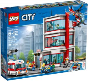 lego 60204 cityn sairaala