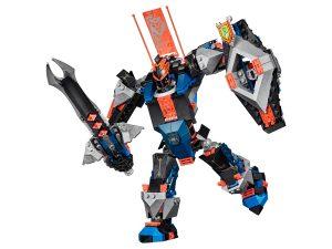 lego 70326 musta ritari robotti