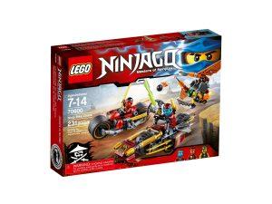 lego 70600 ninjapyoratakaa ajo
