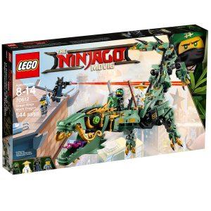 lego 70612 vihrean ninjan robottilohikaarme