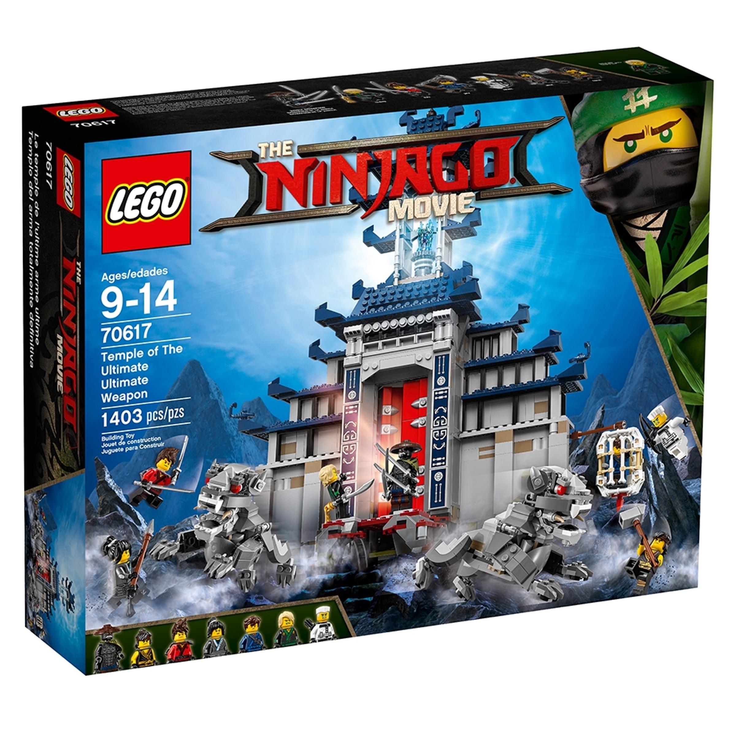 lego 70617 mahtavimmista mahtavimman aseen temppeli