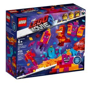 lego 70825 kuningatar tahdontahdeksin rakennelma mita vain laatikko
