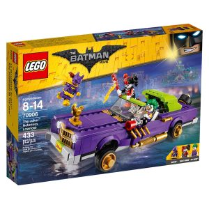 lego 70906 jokeri ja pahamaineinen matala auto