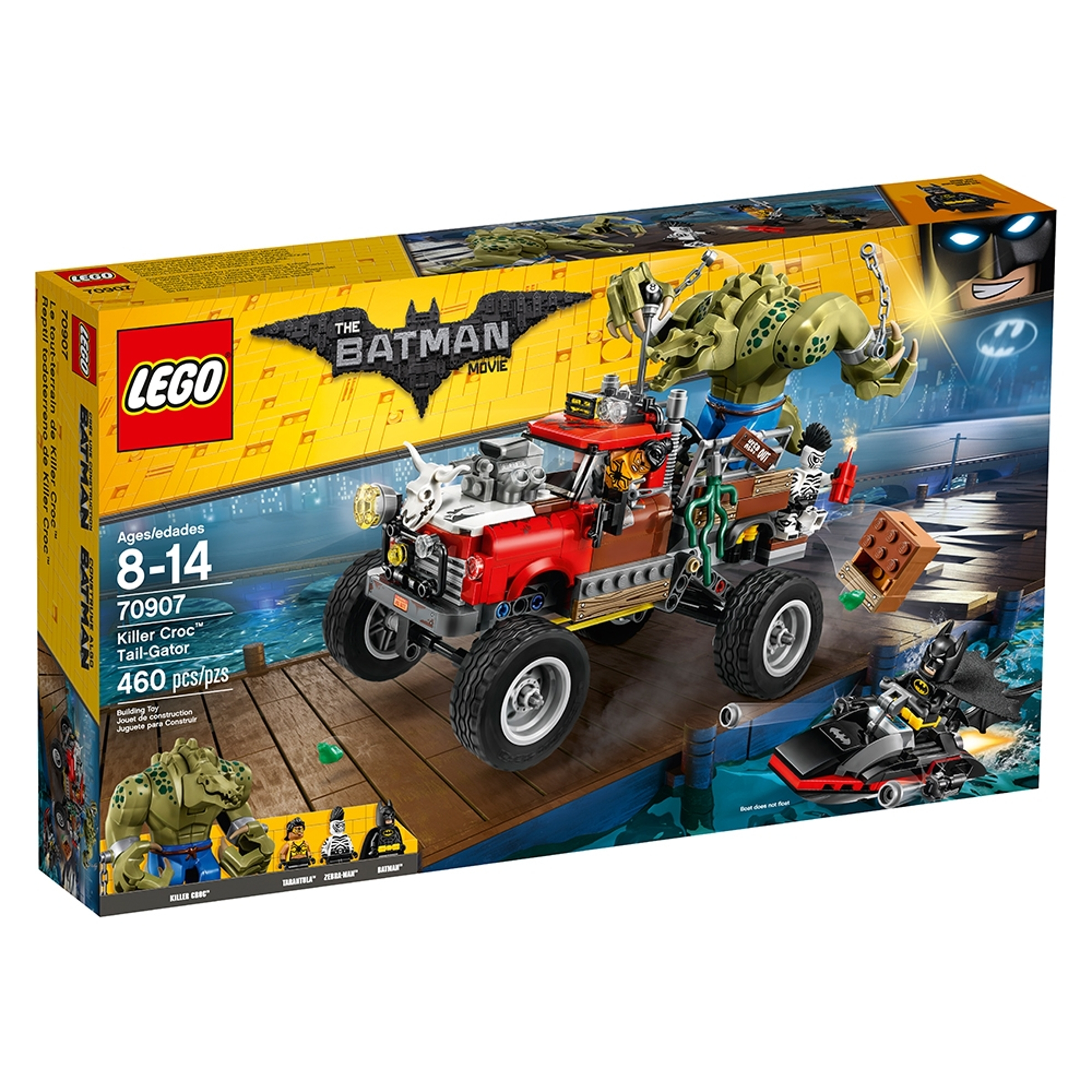 lego 70907 killer croc ja varjostaja alligaattori