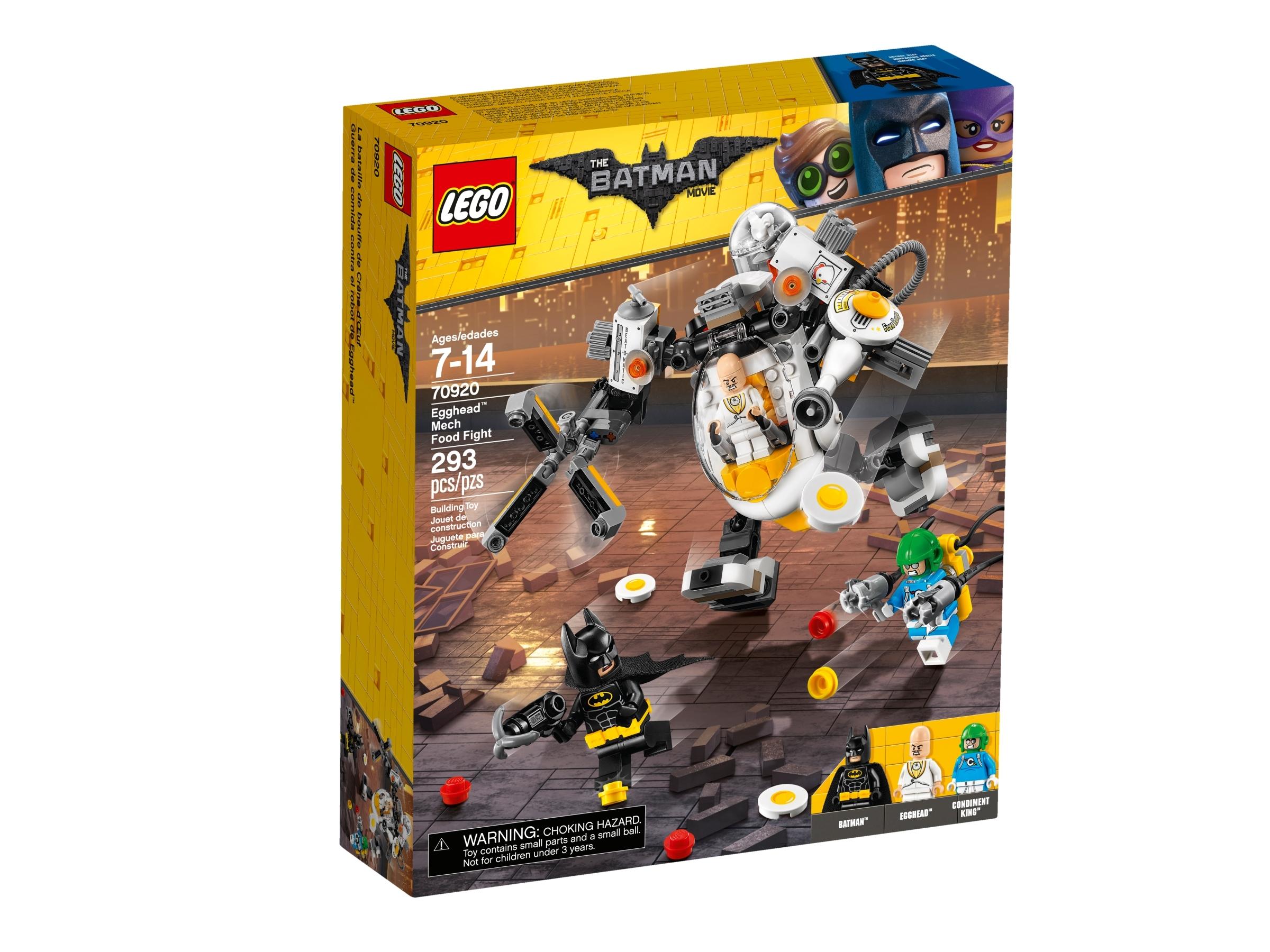 lego 70920 egghead ja robottiruokasota