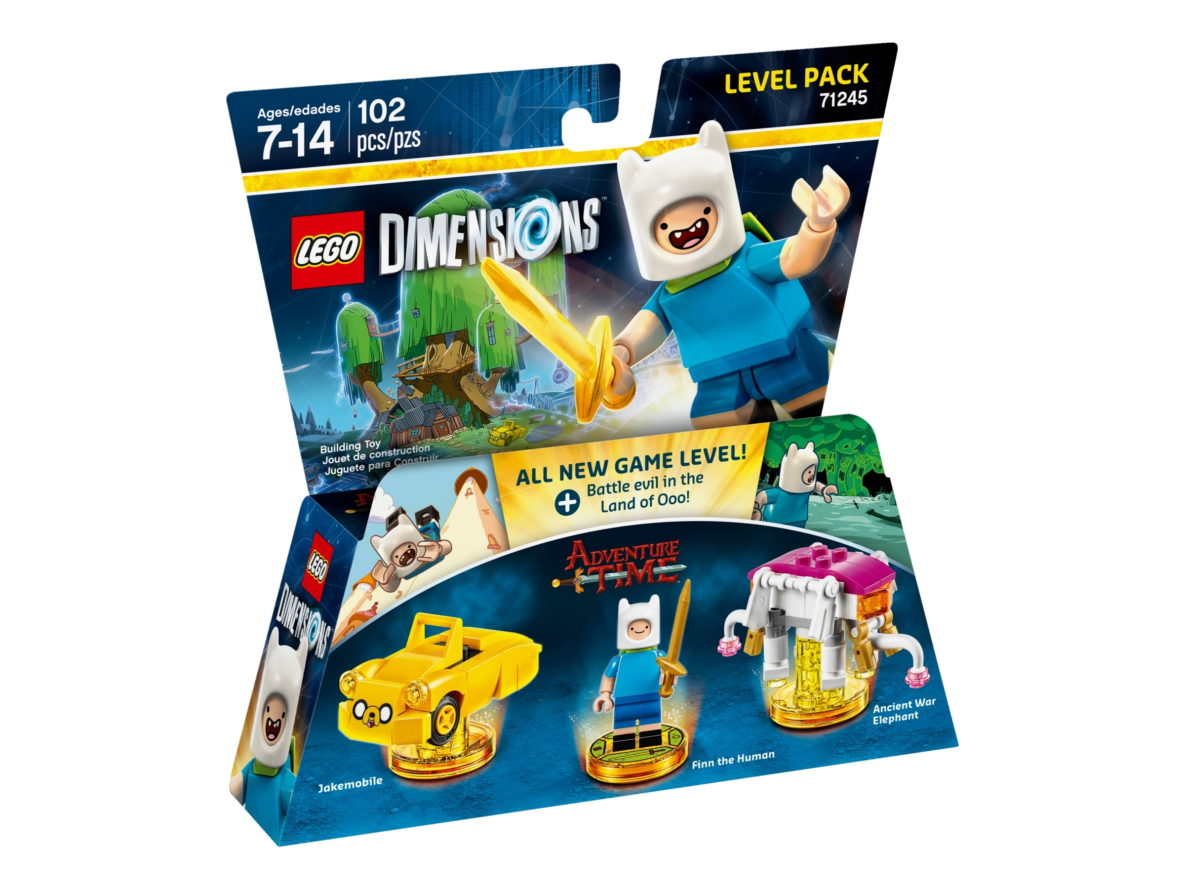lego 71245 adventure time level pack