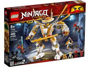 lego 71702 kultainen robotti